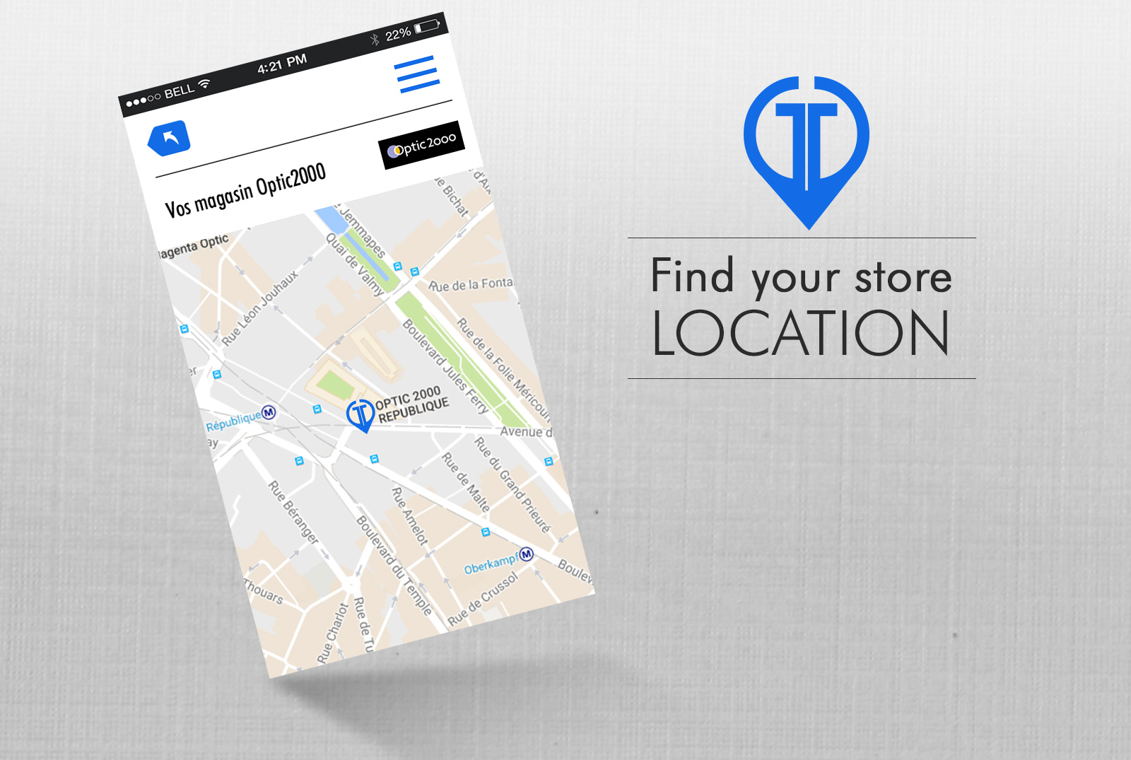 Find a store close to your position